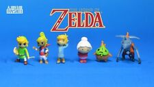 "Set of 6 The Legend of Zelda Phantom Hourglass Mini Figure 1"""