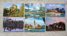 Lot 6 postcards EPCOT CENTER Walt Disney World ORLANDO FLORIDA Germany MOROCCO