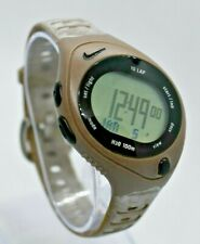 Vintage Ladies NIKE Bowerman Series Sport Watch, Tan, 10 Lap, R0080, Triax Style
