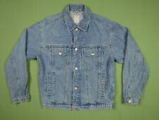 Vintage Denim Jacket Type 3 Trucker Mens Size M Old Navy Clothing Co Jeans 90s