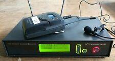 Sennheiser EW322 EW300 Series Wireless Cordless Lapel Radio Microphone System