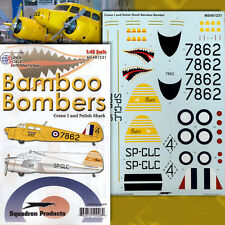 Cessna AT-17 Bamboo Bombers, Pt 1: Crane I (1/48 decals, Superscale 481231)