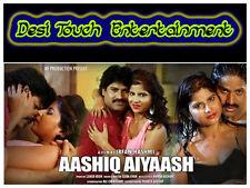 """Aashiq Aiyaash (2016) Hot Hindi Bollywood Masala Sexy """"B"""" Movie From India"""