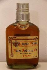 rare ancienne bouteille COGNAC Jules ROBIN V.S.O.P 1950 format flasque 16x8cms