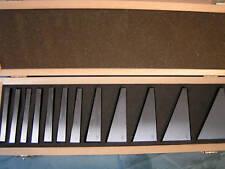 12 piezas juego de bloque de ángulo de precisión