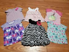6 Tops Size 24 Month Baby Girl Clothes: Disney, Zebra Print, Butterfly, Ladybug