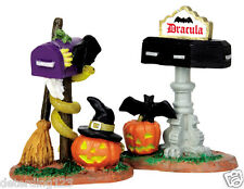 LEMAX SPOOKY TOWN MONSTER MAILBOXES, SET OF 2 -  ITEM # 44740 NIP
