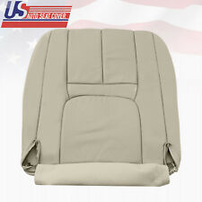 1999-2000 Cadillac Escalade Driver Bottom Perforated Leather Seat cover ShaleTan