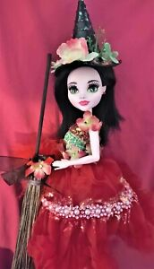 Rosemary an ooak monster high doll witch custom repaint