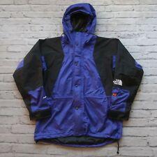 Vintage 90s North Face Goretex Mountain Light 2 Parka Jacket Aztec Blue