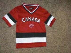 CANADA sewn Hockey Jersey 2T - 4T Toddler Size