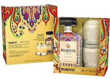 Disaronno Amaretto Wears ETRO Special Edition Huge 700ml Bottle & Glasses Set