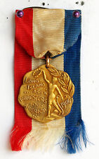 1906 GOLD MEDAL LONG ISLAND ASS'N FORESTERS OF AMERICA 1 MILE EVENT DIEGES CLUST