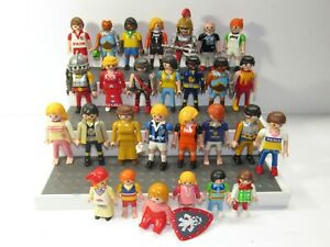Vintage Lot of 28 Geobra Playmobil People Figures