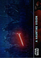 2016 Star Wars The Force Awakens Prism Refractors 54 Haunting Vision #/99 AZ1296