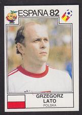 Panini - Espana 82 World Cup - # 67 Grzegorz Lato - Polska