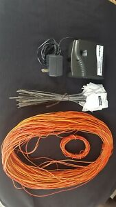 Petsafe rf-1010 Pet Containment System and Extras 16 Gauge Dog Fence Wire
