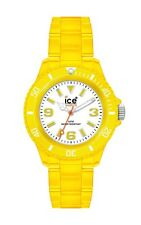 Ice-Watch Unisex Neon Collection Clear Yellow Plastic Watch