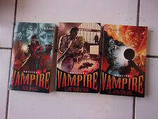 lot 3 Dossiers VAMPIRE par P N Elrod tomes 4, 5 et 6 TBE l'art dans le sang, à f