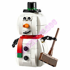 New LEGO Christmas Limited Edition Snowman 140 Pcs Set 40093 Gift Stocking Santa