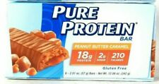 Pure Protein Peanut Butter Caramel G18g Protein 6 Count Bar 12.06 Oz