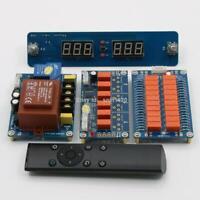 Remote Relay Volume Control Passive Preamplifier Board Audio Input Choose Board