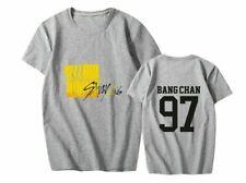 KPOP Stray Kids Yellow Wood New Album 스트레이 키즈 Summer T-Shirt Tee Tshirt Fans Top