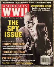 America In World War II 2 Spy Issue Escape From Paris Dec 2015 FREE SHIPPING