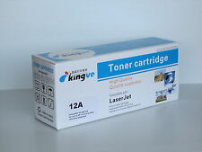 1 PK Compatible Black Laser Toner for HP 12A (Q2612A) fits HP1018 3020 12A