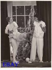 Jean Arthur Lillian Roth Christmas VINTAGE Photo