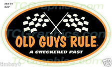 Old Guys Rule vintage Nostalgia style vinyl decal/sticker