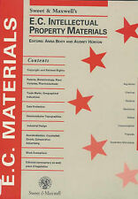 Sweet and Maxwell's E.C. Intellectual Property Materials by