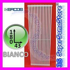 3S TERMOARREDO CALORIFERO ORION ERCOS 180 x 43 BIANCO RAL 9010 TUBOLARE ACCIAIO