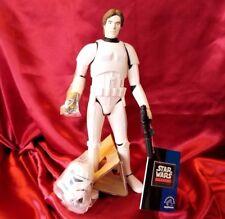 "Han Solo Harrison Ford Star Wars IV storm trooper 9"" blaster helmet applause new"