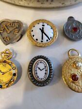 New ListingVintage 70'S Button Covers Different Shapes Clocks Trendy Retro