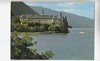 BF21144 l abbaye de haurtecombe savoie au bord du lac du france front/back image