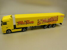 Herpa 451253 MERCEDES BENZ ACTROS LH Box Semitrailer Mr Tom 1 87 H0 Scale