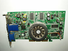 Medion MSI NVIDIA GeForce4 Ti4200, MS-8889, 128MB, 2x VGA, AGP 8x, S-Video, AV