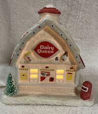 Dairy Queen Christmas Porcelain Light Up Figurine,Very Nice, Super Rare!! Works!