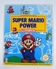 Lösungsbuch SUPER MARIO POWER der offizielle Mario Bros 1 2 3 NES Spieleberater
