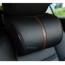 Memory Cotton Headrest Ergonomic Car Head Neck Rest Pillow Cushion Black