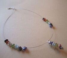 Gemstone Amethyst Costume Necklaces & Pendants