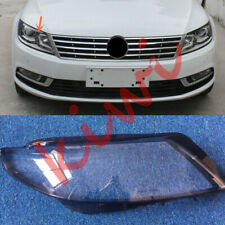 For Volkswagen CC 2013-2017 1Pcs Right Side Headlight Cover With Glue