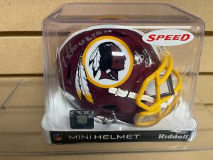 Kenny Houston HOF 86 Autogaphed Mini Helmet Washington Redskins TriStar