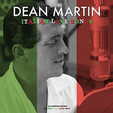 Dean Martin Italian Love Songs 3 LP Gatefold Red White and Green Vinyl