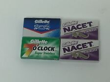 20 blade DE sampler, NIP, Gillette, 10 Nacet, 5 Green, 5 Wilkinson