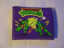 RARE 1990 MIRAGE STUDIOS TMNT WALLET PURPLE