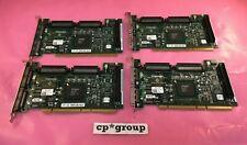 Lot Of 4 Hp 30-56150-03 Adaptec 2-Port 64-bit 66Mhz Ultra3 Pci Scsi Adapter Card