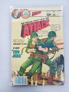 Attack Charlton Comics #34 RARE WAR