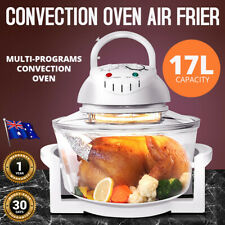 Convection Oven Halogen Roaster 17L Low Fat Air Fryer Turbo Electric Healthy